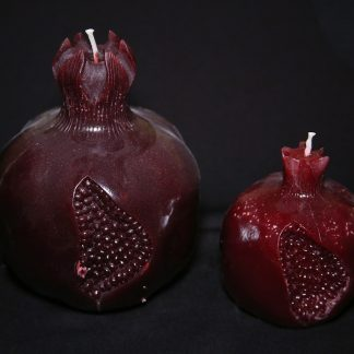 Red Pomegranate Candles